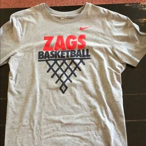 save off 16e8a 0da31 Gonzaga basketball Nike shirt
